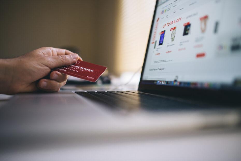 Imagine reprezentativa pentru e-commerce