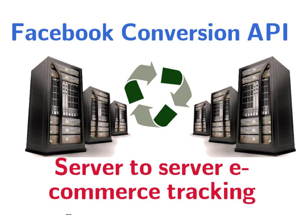 Imagine reprezentativă pentru tracking server to server prin Facebook Conversion API